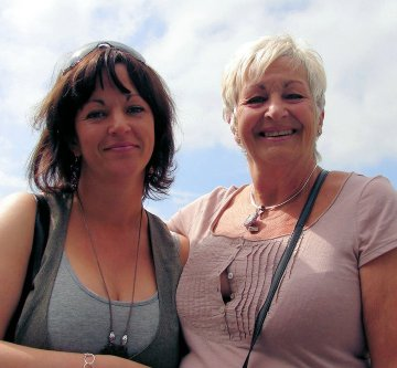 Debbie Jamison Kershaw with mum Nita