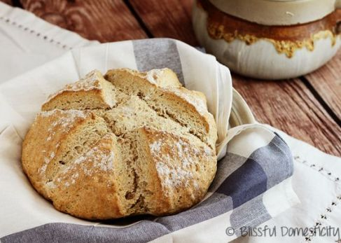 Irish Soda bread, courtesy of blissfuldomesticity.com