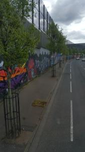 """""""Peace"""" wall, Belfast"""