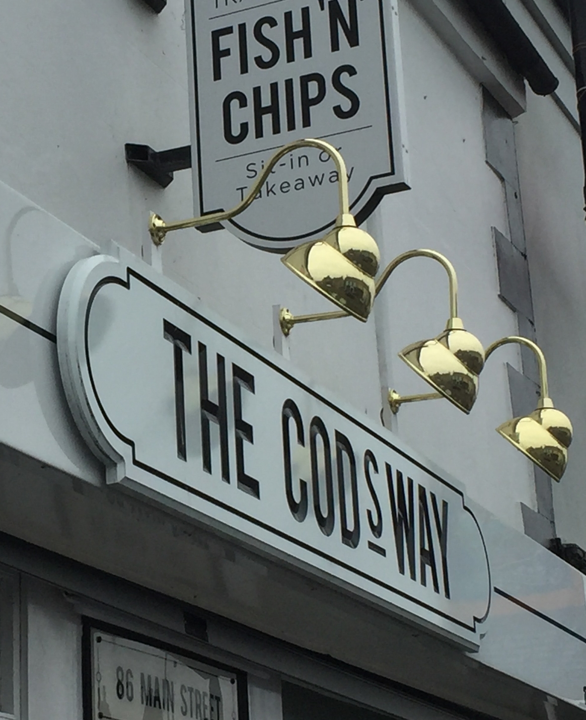 The Codsway Chip Shop, Bushmills, Northern Ireland
